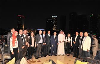 سفير السعودية بالقاهرة: العلاقات بين البلدين تشهد طفرة بدعم من خادم الحرمين والرئيس السيسي   صور