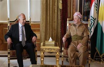 بارزاني يستقبل نائب الرئيس العراقي ويناقش تطورات العملية السياسية مع رئيس ائتلاف القوى العراقية