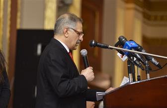 """في مؤتمر """"مصر خزائن الأرض"""".. """"الجنابي"""" يشكر الرئيس السيسي ويرفع شعار """"دع عملك يتكلم"""""""