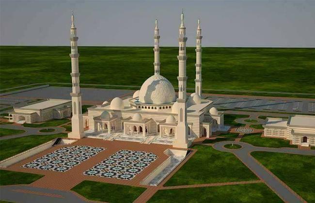 نتيجة بحث الصور عن مسجد الفتاح العليم