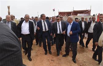 وزير الزراعة يفتتح المرحلة الأولى لتطوير بحيرة قارون |صور