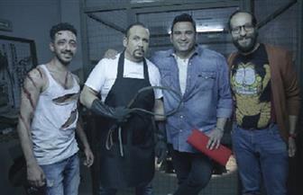 """هشام عباس يشارك في """"الوصية"""" مع أكرم حسني وأحمد أمين   صور"""