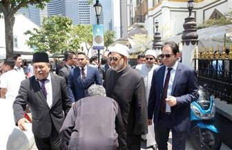 مستشار شيخ الأزهر يكشف كواليس زيارة الإمام الأكبر لسنغافورة   صور