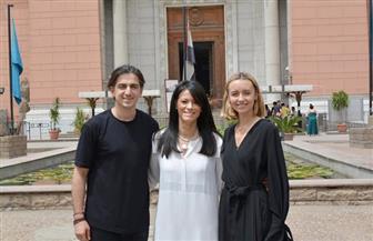 وزيرة السياحة تلتقى اثنين من أهم المدونين والمؤثرين فى وسائل التواصل الاجتماعى الدولية | صور