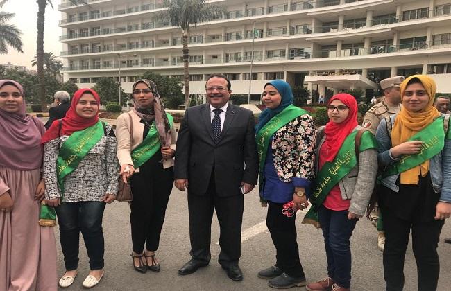 رئيس جامعة طنطا: لن تنال يد الإرهاب الأسود من عزيمة وإرادة الجيش المصري   صور -