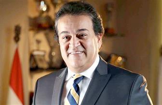 """وزير التعليم العالي يشهد توقيع اتفاقية تعاون بين مصر والصين لتجميع """"مصر سات 2"""""""