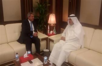 خالد عبدالعزيز يلتقي وزير الطيران المدني بالكويت