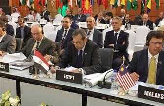 مصر تشارك في اجتماع وزراء خارجية منظمة التعاون الإسلامي وتؤكد دعمها الكامل للمنظمة