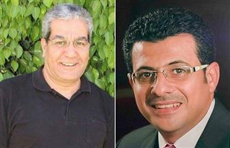 """باسم صادق ومحمد الروبي يناقشان عرض """"الساعة الأخيرة"""""""