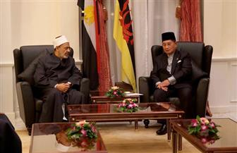 الإمام الأكبر يحاضر في سلطنة بروناي بحضور جميع وزراء الحكومة ونوابهم