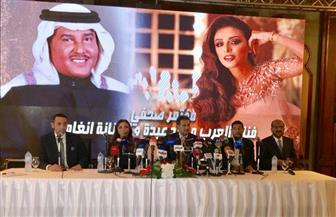 محمد عبده: غنيت لمصر بعد عبور أكتوبر.. ومصطلح الثورة غير موجود في القاموس السعودي  صور