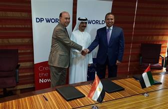 """تحالف ثلاثي بين موانئ دبي واقتصادية قناة السويس و""""القابضة للنقل"""" لتطوير مشروع الميناء الجاف بأكتوبر"""