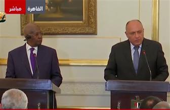 سامح شكرى: مصر تعمل لتوثيق العلاقات التاريخية مع أوغندا وتفعيل أعمال اللجنة المشتركة كل عامين