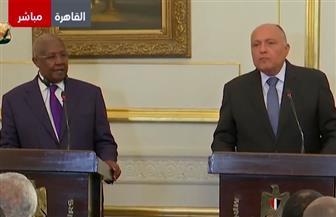 شكرى: مصر تعمل لتوثيق العلاقات التاريخية مع أوغندا وتفعيل أعمال اللجنة المشتركة كل عامين