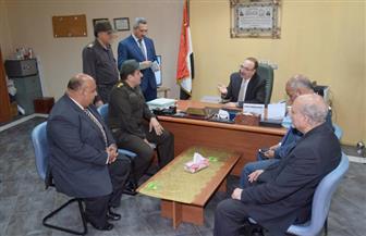 محافظ بني سويف يشيد بمستوى الخدمة والتجهيزات الطبية بالمستشفى العسكري شرق النيل | صور