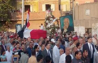 أهالي القليوبية يشيعون جثمان الراحل خالد محيي الدين لمثواه الأخير كفر شكر | صور