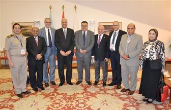 رئيس جامعة الإسكندرية: إنشاء أكبر مركز لعلاج أمراض الصدر بالجامعة| صور