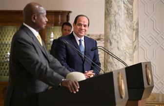 موسيفيني: السيسي أول رئيس مصري يزور منابع النيل.. وأزمة سد النهضة في طريقها للحل
