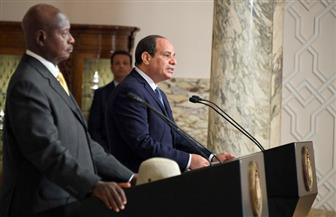 الرئيس السيسي: العلاقات المصرية الأوغندية شهدت زخما ملحوظا خلال الأعوام الماضية