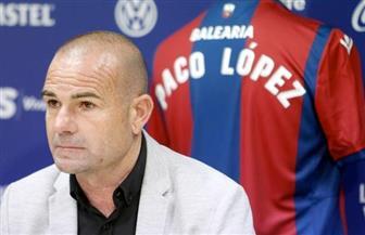 ليفانتي الإسباني يجدد عقد مدربه لوبيز لموسم واحد