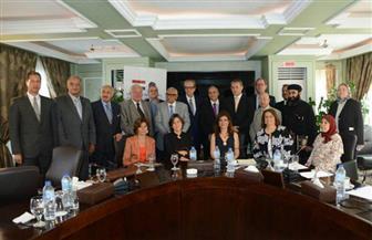 سفراء سنغافورة وصربيا والنرويج في حلقة نقاشية لمجلس الأعمال المصري - الأوروبي