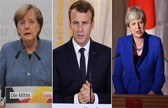 قادة فرنسا وبريطانيا وألمانيا يعلنون مواصلة تطبيق التزامات دولهم مع الاتفاق النووي الإيراني