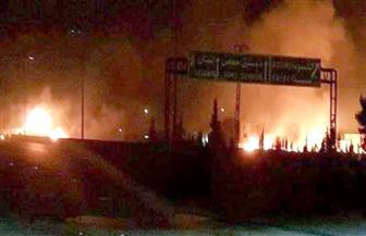 انفجار ضخم في نقطة تابعة للجيش السوري