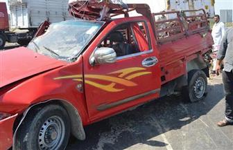مصرع شخصين وإصابة آخر في حادث تصادم سيارة ربع نقل في طور سيناء