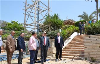 رئيس جامعة الإسكندرية يتفقد مبنى ستاد الجامعة بعد تطويره بـ7 ملايين جنيه | صور