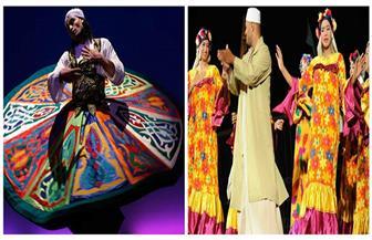 """""""التنورة"""" و """"الأقصر للفنون الشعبية"""" على مسرح سور القاهرة الشمالي.. الليلة"""