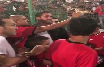 """""""سليم الأنصاري"""" يحضر تدريب المنتخب في استاد القاهرة   فيديو"""
