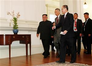 زعيم كوريا الشمالية يلتقي وزير خارجية سنغافورة قبل قمته مع ترامب