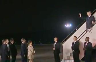 ترامب يصل سنغافورة لعقد قمة تاريخية مع زعيم كوريا الشمالية