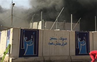الداخلية العراقية: حريق في مخزن لصناديق الاقتراع ببغداد