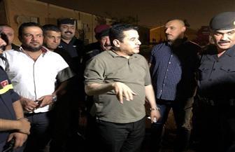 وزير الداخلية العراقي يتفقد موقع حريق صناديق الاقتراع بالرصافة