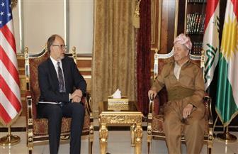 """مسعود بارزاني للسفير الأمريكي: محاولة إلغاء أصوات """"البيشمركة"""" بادرة خطيرة تتلاعب بمصير إقليم كردستان العراق"""