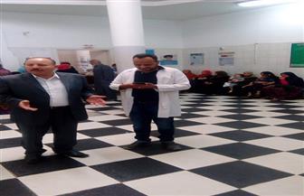 إحالة 84 من العاملين بالصحة في كفرالزيات إلى التحقيق | صور