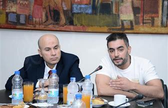 """هاني سلامة في ندوة تكريمه بـ""""بوابة الأهرام"""": سعيد بوجودي معكم للاحتفال بنجاح """"فوق السحاب""""  صور"""