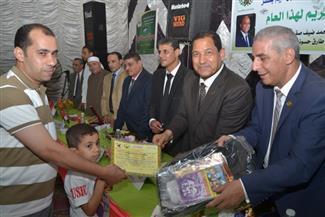 محافظ الغربية يكرم الفائزين في مسابقة حفظ القرآن الكريم بسملا | صور