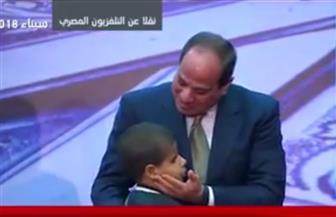 الرئيس السيسي يكرم 10 من حفظة القرآن الكريم من مصر والعالم