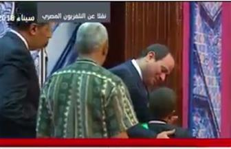 """الرئيس السيسي يطالب الأوقاف بزيادة قيمة الجائزة لطفل من حفظة القرآن: """"20 ألف جنيه مش كفاية"""""""