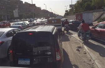 كثافات مرورية بالدائري وكورنيش النيل وكوبري أكتوبر في فترة الذروة المسائية | صور