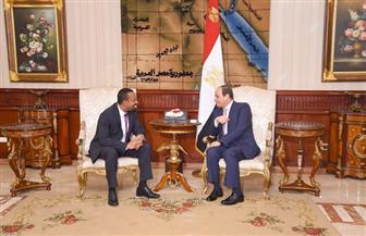 حزب المؤتمر: مباحثات الرئيس السيسي ورئيس وزراء إثيوبيا ناجحة وحققت أهدافها