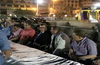 محافظ الفيوم يشارك عمال مجلس المدينة الإفطار