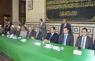 محافظ الغربية يشهد احتفالية الأوقاف بليلة القدر في مسجد البدوي بطنطا | صور