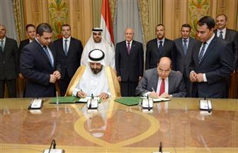 اتفاقية تعاون بين الإنتاج الحربي وشركة إماراتية للخرسانة الجاهزة
