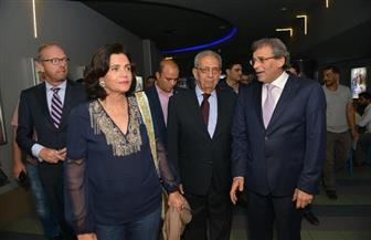 """عمرو موسى وأبطال فيلم """"كارما"""" مع خالد يوسف في العرض الخاص"""