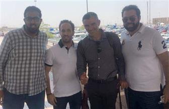 كارتيرون يصل القاهرة لتوقيع عقود تدريب الأهلي