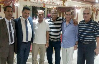فكري يشارك في حفل إفطار الرياضيين بالإسكندرية