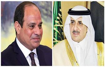 الرئيس يتلقى اتصالا من الأمير فهد  بن سلطان للتهنئة بعيد الفطر المبارك